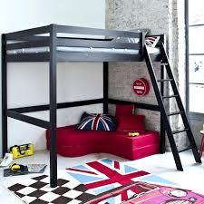 lit mezzanine 2 places avec canapé lit mezzanine clic clac beau canape lit mezzanine 2 places avec