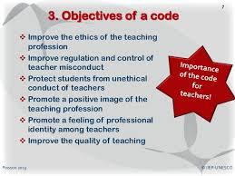 teacher u0027s professional code of conduct