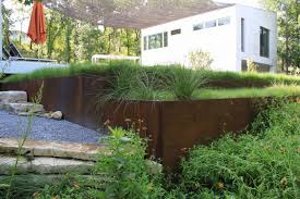 how to install metal landscape edging on a slope beatiful landscape