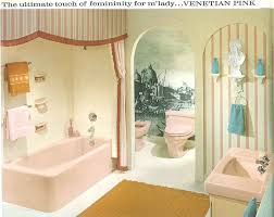 Pictures Of Pedestal Sinks In Bathroom by The Color Pink In Bathroom Sinks Tubs And Toilets From 1927