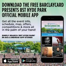 the free official bst hyde park mobile app barclaycard