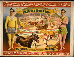 Barnes And Bailey Circus The Barnum U0026 Bailey Greatest Show On Earth The Rival Riders
