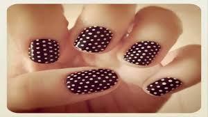 polka dot nail art design nail art ideas and inspiration hd