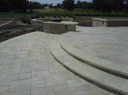 Limestone Patio Pavers by Limestone Paver Drive Over For Public Spaces Valders Eden