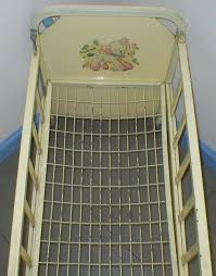 1950 u0027s metal doll crib i still have mine need to ake a picture