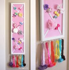 organize hair accessories diy hair bow holder or message board repeat crafter me