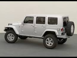 custom jeep white white jeep wrangler unlimited rubicon side angle jeep enthusiast