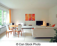 livingroom in stock photos of modern living room in color modern