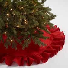 brown tree skirt ruffled burlap tree skirt world market