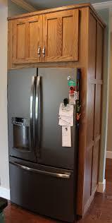 kitchen fridge cabinet refrigerator side panels kitchen renovation doors drawers and