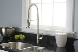Brushed Nickel Kitchen Faucet Contemporary Style Kitchenette With Premier 120334lf Essen