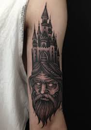Half Sleeve Forearm Tattoo Ideas 27 Wizard Sleeve Tattoos And Designs