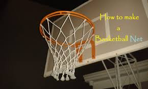 how to make a basketball net 12 strings youtube