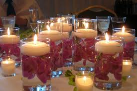 Dining Table Candles Interesting Candle Centerpieces For Dining Tables Photo