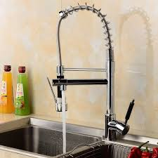 tapcet professional sink mixer tap kitchen faucet chrome brass 360