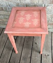 martha stewart end tables accent table painted with martha stewart vintage decor paint