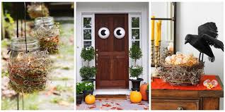 homes decorated for halloween 50 easy halloween decorations spooky home decor ideas for halloween