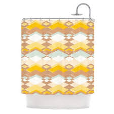 Kess Shower Curtains Retro Shower Curtains Shower Curtains Outlet