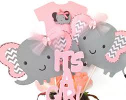 pink and grey elephant baby shower 125 pink and gray elephant confetti baby girl shower decorations