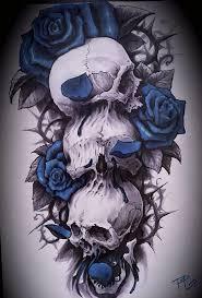 skull skull and tatting