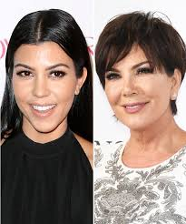 to do kris jenner hairstyles see kourtney kardashian and kris jenner s cute birthday wishes to 4