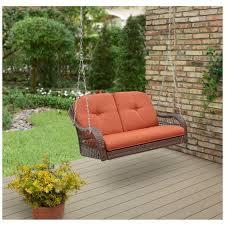 patio porch swing hanging outdoor furniture rocker seat loveseat