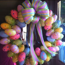 how to make an easter egg wreath easter archives simple home diy ideas