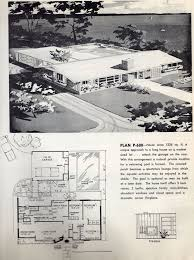 The House Plans 1259 Best H Mcm House Plans Images On Pinterest Vintage Houses
