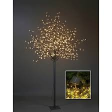 lighted outdoor tree target