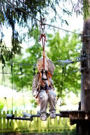 a zipline in your own backyard