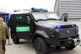 civilian armored vehicles military technology mspo 2015 security solutions and throwable
