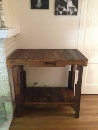 Pallet Console Table Greenwithlove Pallet Console Table