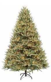 artificial christmas tree with lights 7 5 ft canterbury fir pre lit artificial christmas tree 1600 clear