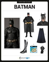 best batman halloween costume dress like batman costume halloween and cosplay guides