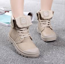 motorcycle booties women s fashion high top military desert boots women pu leather