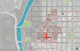 Iowa City Map Genus Landscape Architects U203a Iowa City Downtown And Pedestrian