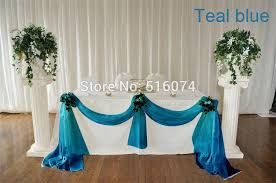 Wholesale Wedding Decorations Wholesale Wedding Supplies Decoration 5meter Width Teal Blue