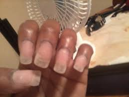 acrylic nails with clear tips youtube