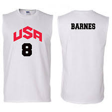 Harrison Barnes Shirt Team Usa Basketball Shirt Ebay