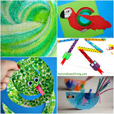 Paper Plate Monkey Craft - 10 amazing rainforest crafts can make living