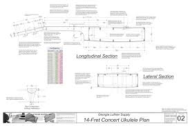 concert sized 14 fret ukulele plans electronic version concert