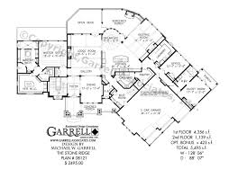 Stone Mansion Floor Plans by Stone Ridge House Plan Country Farmhouse Southern Stone Mansion