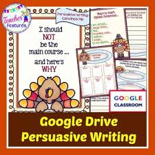 thanksgiving activities for classroom persuasive writing tpt