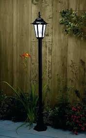 wilson and fisher solar lights solar light post with planter double planter solar powered 3 light