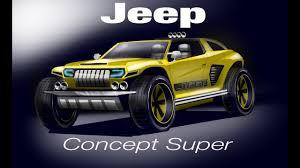 jeep sports car concept jeep concept