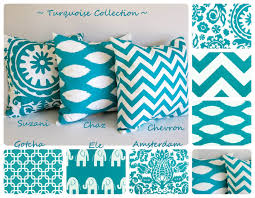 Sectional Sofa Pillows by Bedroom Remarkable Turquoise Pillow Decorative For Wondering
