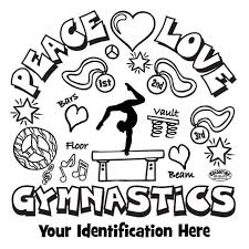 coloring pages glamorous gymnastics printables sport coloring