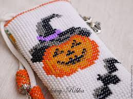 buy phone case for halloween beaded case with pattern phone case