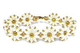 beads bracelet tutorials images Tutorial flower bracelet easy superduo beads jpg