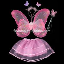 wholesale sequin led butterfly fairy wings tutu set halloween